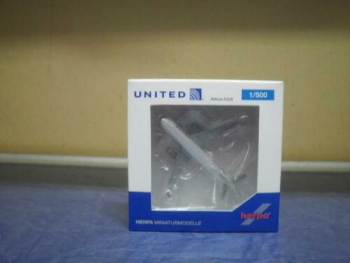 Herpa Wings 1:500 airbus a 320 united airlines 531252