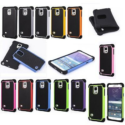 Defender Protective Hybrid Dual Layer Armor Case for Apple Samsung LG Sony HTC