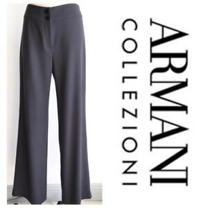 pantaloni Talpa Collezioni 4 crepe lana in donna Armani Pant per di Sz zFqw5dPCx