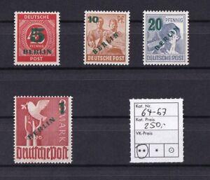 Berlin-Michel-Nr-64-67-Postfrisch