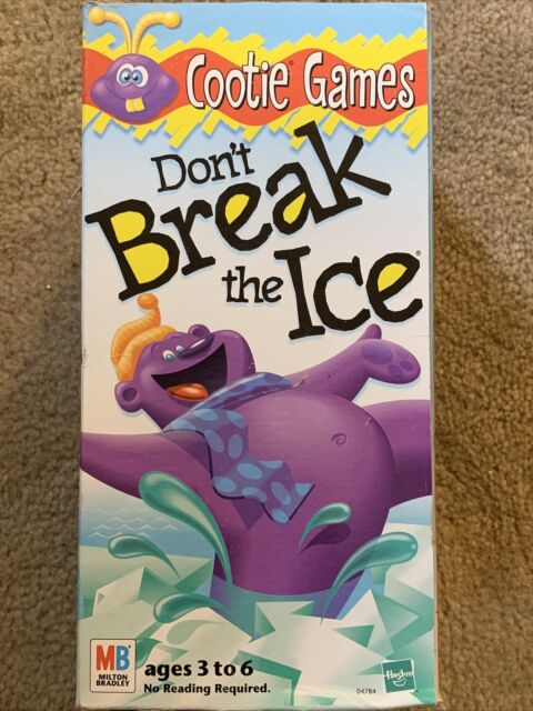Milton Bradley Cootie Games 'Don't Break The Ice' from Hasbro 1999, Complete