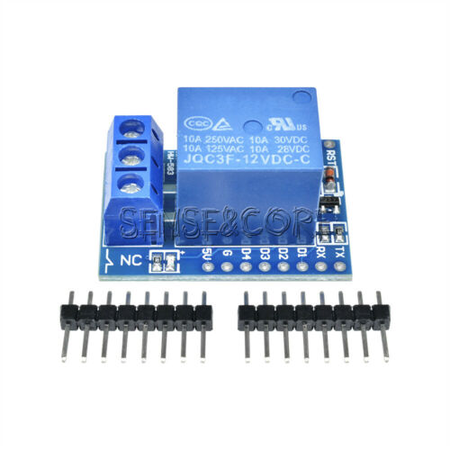 WeMos D1 Mini ESP8266 Wifi Relay Shield Development Board 12V for Arduino