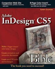 InDesign CS5 Bible by Gruman, Galen