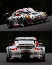 CODEX Porsche 997 GT3 #76 Le Mans 07 1:18 Autoart Finish line + Night lights