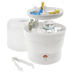 H-H-Dampfsterilisator-Vaporisator-6-Babyflaschen-Sterilisator-Bs-29-weiss
