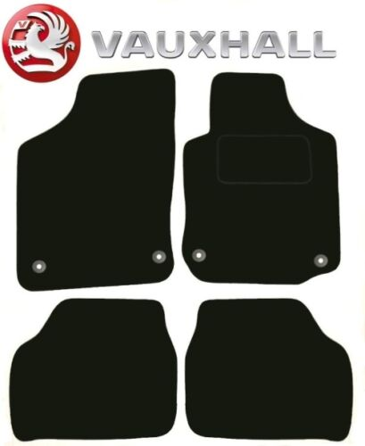 Vauxhall Corsa C 2002 2003 Black Tailored Deluxe Quality Car Mats Hatch back mk2