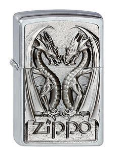 Zippo-Mechero-Twins-DRAGON-HEART-Coleccion-Primavera-2012-N-2002728-NUEVO
