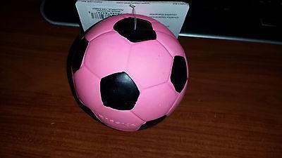 "100% Kwaliteit Coastal Rascals 3"" Pink Latex Soccer Ball Dog Toy Stuffed. Free Ship To The Usa"