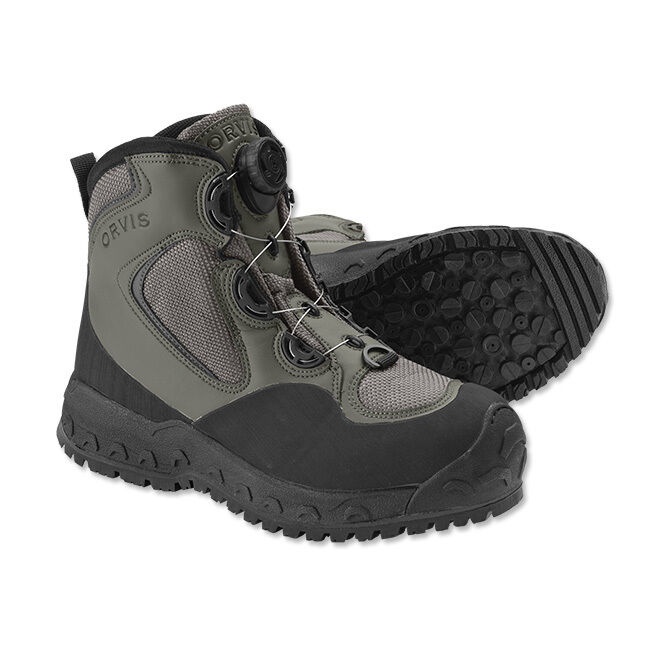 Orvis Boa Pivot Vibram-Sole Watting Stiefel Größe 10  199 NEUE FREIE SHIPPING