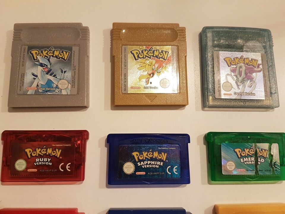Diverse Gameboy og Pokemon spil, Gameboy, adventure