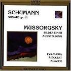 Schumann: Sonate Op. 11; Mussorgsky: Bilder einer Ausstellung (1997)