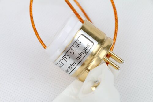1pc Gold plated 1641 RK60 TO GZ34 5AR4 5U4G tube converter adapter for you amp