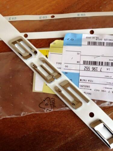 LOGO 635d 635 d SÉRIE 6 E63 E64 COFFRE BMW M6  M SIGLE BADGE ORIGINAL