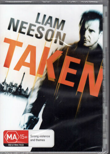 1 of 1 - TAKEN - Liam Neeson DVD -BRAND NEW & SEALED - FREE POST
