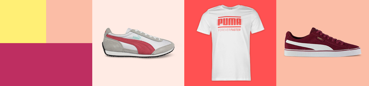 Shop event Puma for All  Save on clothes, shoes and more.
