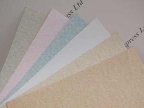 20 x Pergament Papier schwer A4 176gs 6 Farben erhältlich certficates