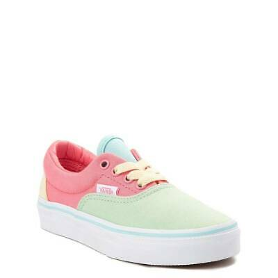 Vans Era Color-Block Chaussures de Skate Multi Rose Vert Jaune Pastel Yacht  | eBay