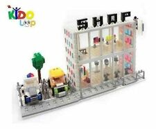 Kidoloop Brick Block Construction Mega  Mall Corner Shop 440pcs with vehicles