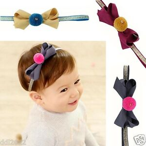 Sweet-Baby-Girls-Kids-Hair-Bands-Baby-Elastic-Bowknot-Headwear-Head-Accessories