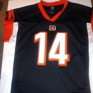 Details about NFL Team Apparel Cincinnati Bengals Andy Dalton #14 Youth Jersey Size XL (18-20)