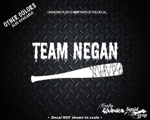 """Team Negan Walking Dead Car window laptop Decal  8/"""""""