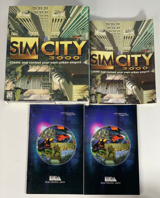 Sim City 3000 Big Box PC complete with Contents - NO GAME - Excellent condition.