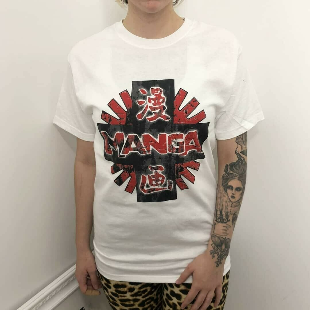 Manga Entertainment vintage anime shirt Akira Ghost in the Shell T-shirt Tee
