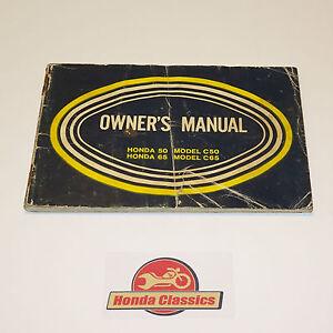 Honda-Vintage-Classic-C50-C65-Owners-Drivers-Manual-Handbook-HOM039