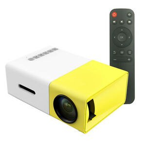 600 lumens yg300 mini portable high resolution led for Highest lumen pocket projector