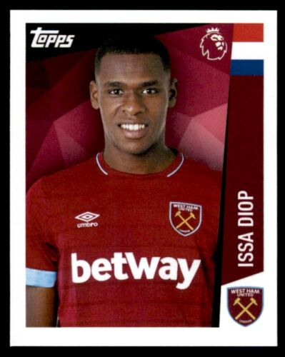 Merlin Premier League 2019-Issa Diop West Ham United no 289