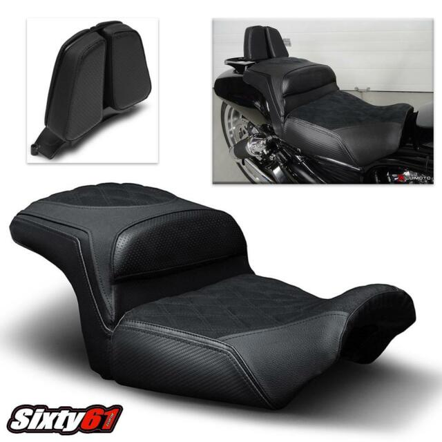 Harley Davidson VROD Muscle Seat Covers 2009-2015 2015 2016 2017 ...