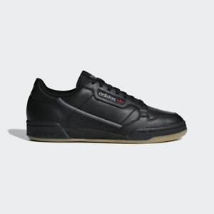 NEW-adidas-130-MEN-039-S-ORIGINALS-CONTINENTAL-80-SHOES-BD7797-Black