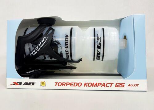 XLab Aerobar Torpedo Kompact 125 Bicycle Water Bottle #2644 Mount+Cage+Bottle