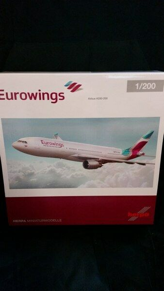 Herpa 557399 - 1   200 airbus a330 - 200 - eurowings - neu