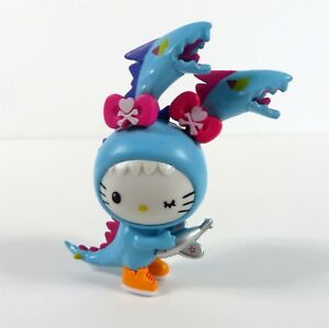 TOKIDOKI X Hello Kitty Series 2 Vinyl Mini BLUE KAIJU DRAGON