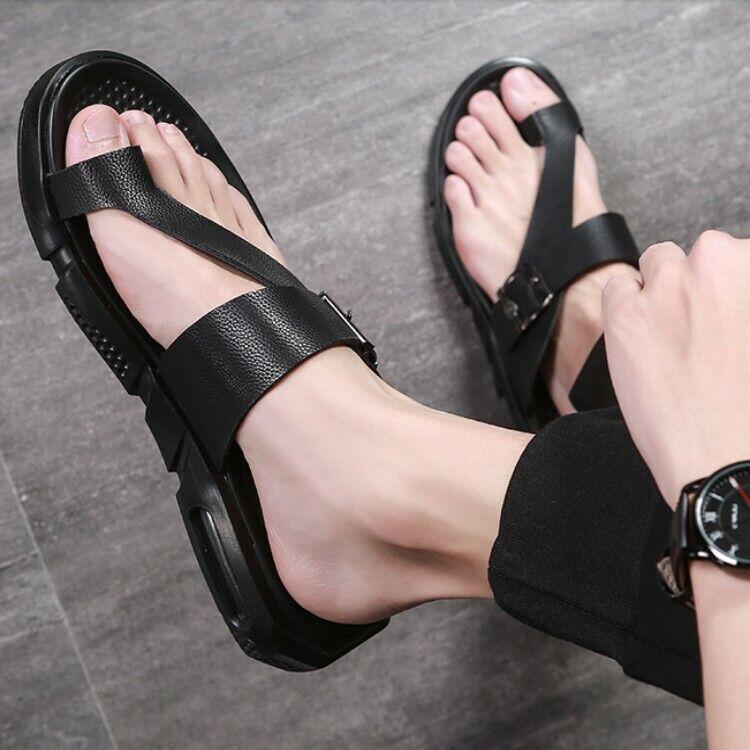 Vintage Mens 2019 Roman Slipper Slide Summer Beach Sandal shoes size