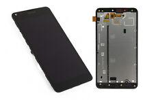 Original Microsoft Lumia 640 XL Dual SIM LCD Display Touchscreen Rahmen Schwarz