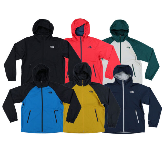 c055765c0 The North Face Rain Jacket Mens Boreal Hooded Coat Waterproof Windbreaker  New