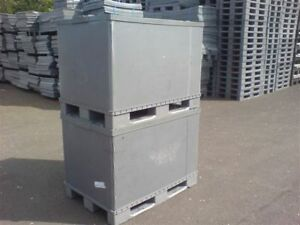 PLASTIC-STORAGE-PALLET-BOX-CONTAINER-970H-500KG-CAPACITY-SET-OF-5-GRADE-A