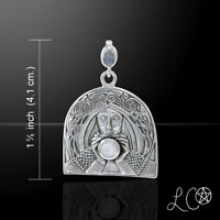 Laurie Cabot Camelot Holy Grail Knight Sterling Silver Pendant By Peter Stone