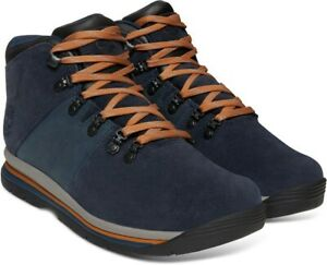 TIMBERLAND-A1QEY-GT-RALLY-MEN-039-S-NAVY-WATERPROOF-HIKING-BOOTS