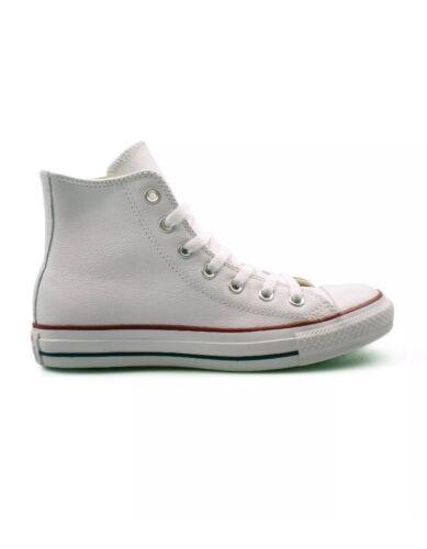 Converse di zecca Nuovo Leather Ladies Uk3 Size White gFWqgYwRr