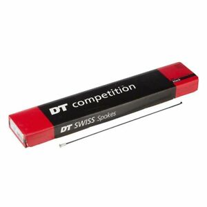 DT SWISS COMPETITION 2.0//1.8  276MM BLACK BICYCLE SPOKE--BOX OF 72