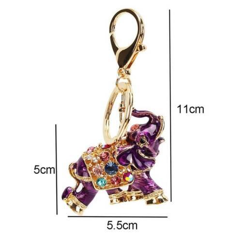 Fashion Bag Purse Pendant Elephant Key Chains Keyfob Keychain Keyfob Keyring LD