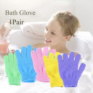Moisturizing-Exfoliating-Body-Cleaner-Wash-Cloth-Bath-Gloves-Shower-Brush