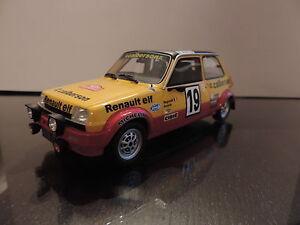 Renault 5 R5 Alpine Turbo Gr2 Calberson Ragnotti au 1/18 Otto Ottomobile Ottomodels
