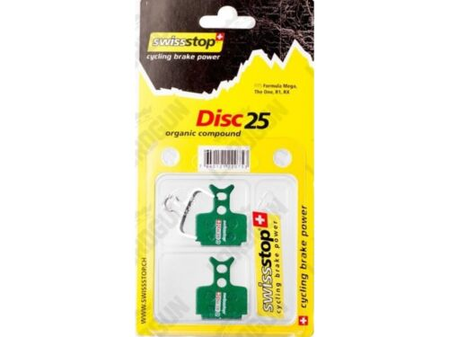New SwissStop Disc 25 Organic Compound Brake Pads Formula Mega The One R1 RX