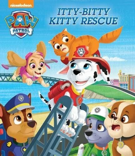 Nickelodeon Paw Patrol Itty-Bitty Kitty Rescue,Parragon- 9781474857154