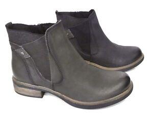9ac4f1bc27082a Das Bild wird geladen Tamaris-Stiefel-Stiefeletten-Chelsea-Boots-Helios -oliv-oder-
