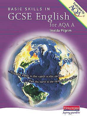 1 of 1 - A Basic Skills GCSE English AQA A by Imelda Pilgrim (Paperback, 2003)